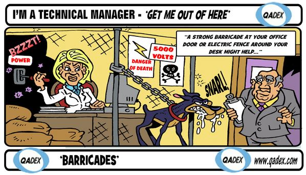 I'm a technical Manager - 'Get Me Out of Here'