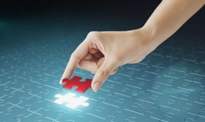 supplier relationship management software - jigsaw piece