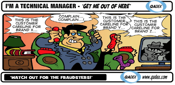 Customer Complaint Software to help deal with fraudsters