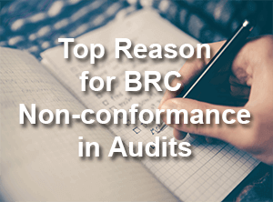 Top Reason For BRC Non-conformance In Audits