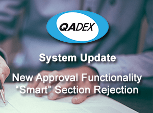 New Approval Functionality Smart Rejection