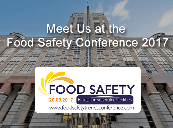 Meet Us At The Food Safety Conference 2017!