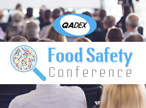 QADEX will exhibit at the Food Safety Conference