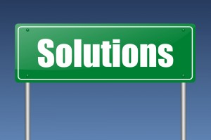 Solutions Sign