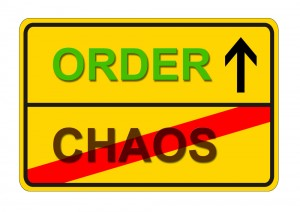 Order & Chaos Sign