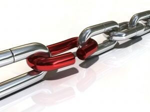 supplier relationship management software - broken chain
