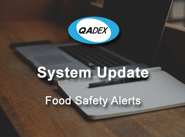 QADEX Food Safety Alerts Update
